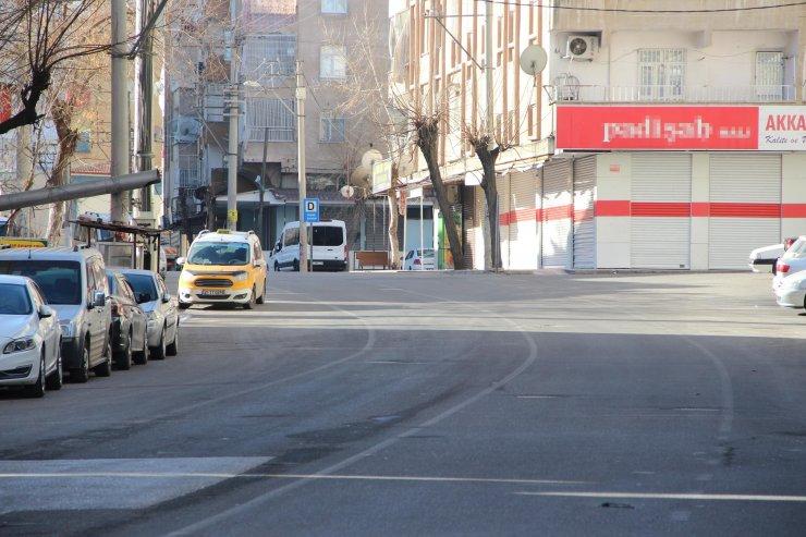Diyarbakır'da, 56 saatlik kısıtlamada sıkı denetim