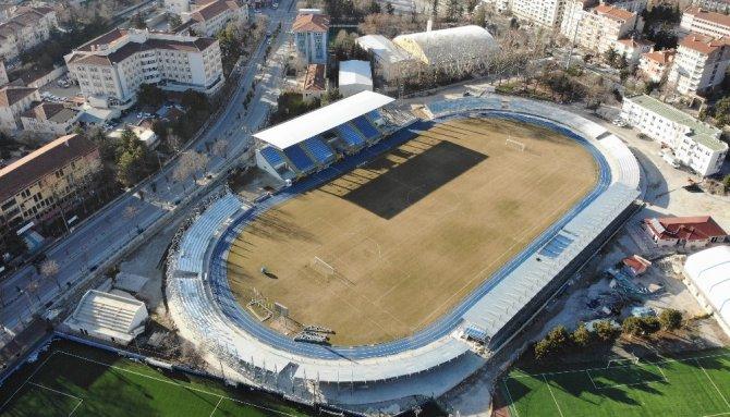 İşte, Dumlupınar Stadı'nın havadan görüntüsü