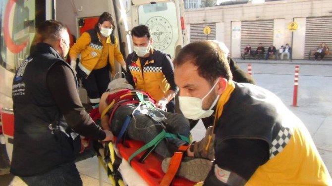 Metrelerce yükseklikten asansör boşluğuna düşen işçi hayatını kaybetti