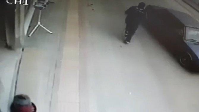 Bursa'dan ölümün teğet geçtiği anlar kamerada