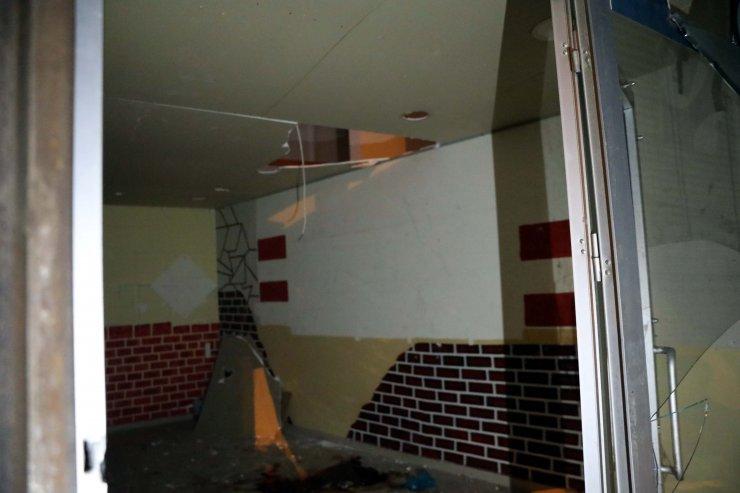 Kırılan asma katran düşen apartman görevlisi öldü