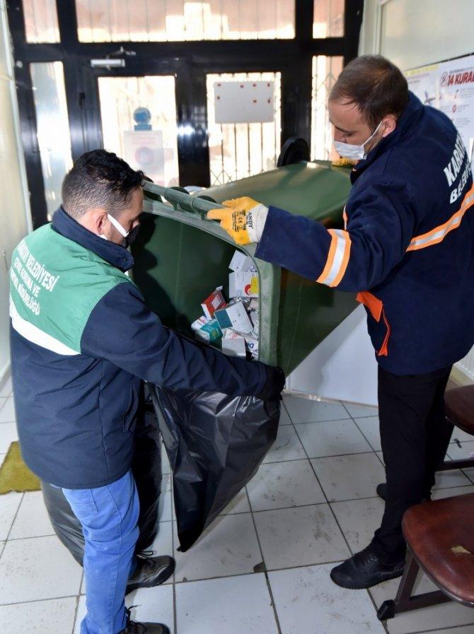 Karatay Belediyesi 6 ayda 1,5 ton atık ilaç topladı