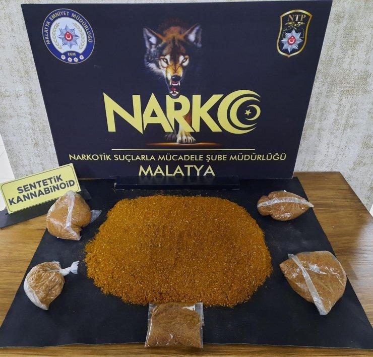 Malatya'da uyuşturucuya 2 tutuklama