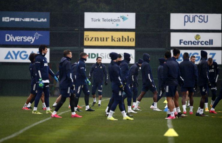 Fenerbahçe, Konyaspor hazırlıklarını sürdürdü
