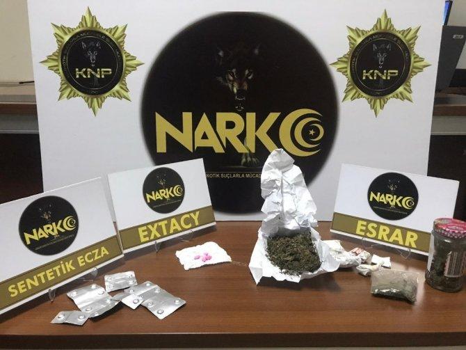 Akşehir'de uyuşturucu operasyonu: 1 tutuklama
