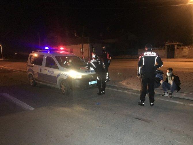 Polisin üzerine araç sürüp 30 kilometre kaçtı, 'korktuk' dedi