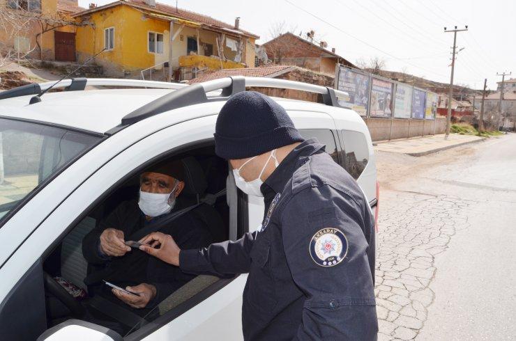 Kısıtlamada taziyeye giden 70 yaşındaki sürücüye 3 bin 150 TL ceza