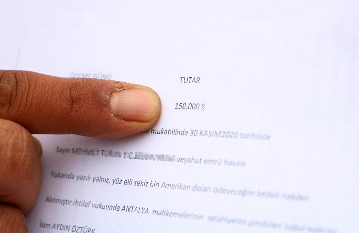 İş vaadiyle imzaladığı formla 158 bin dolar borçlandırıldı