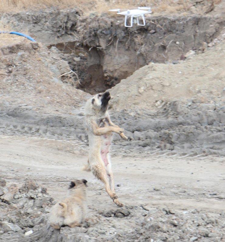 'Çamur'un dronla savaşı
