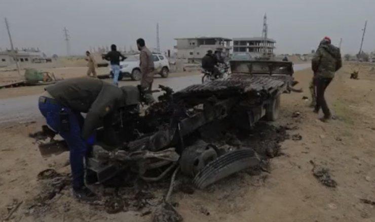 Resulayn'da bomba yüklü araçla saldırı: 1 ölü, 1 yaralı