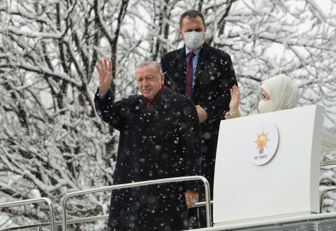 Erdoğan, AK Parti 7. Olağan Büyük Kongresi'ndeki konuşmasında 81 ili tek tek selamladı