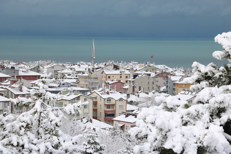 Konya'da mart karı güzelliği