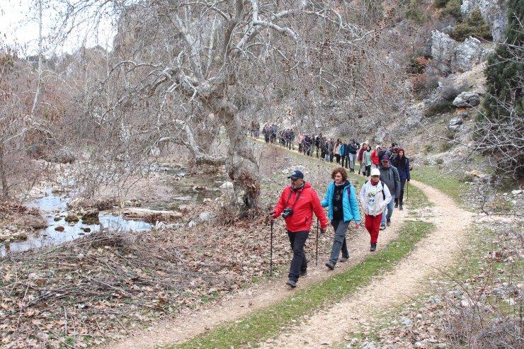 Konya'da kuruyan derede'kuraklık' yürüyüşü