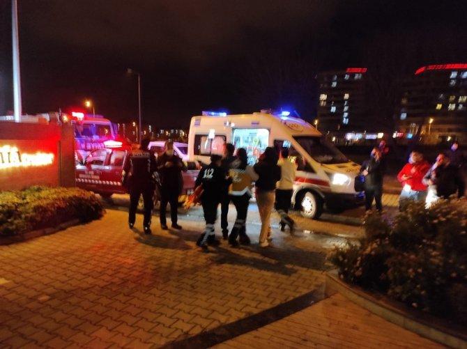 Mutfak tüpü patladı: 1 kişi yaralandı
