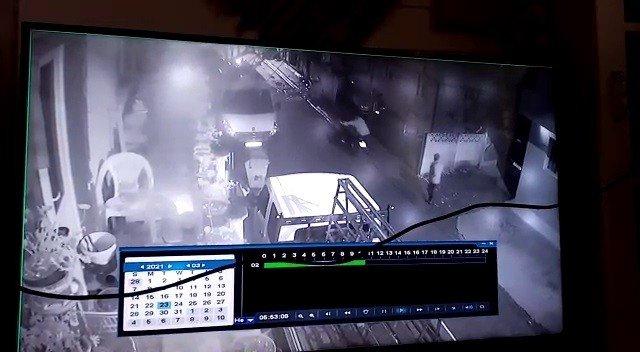 Çamaşır suyu satarak aldığı motosikletini hırsızlar böyle çaldı
