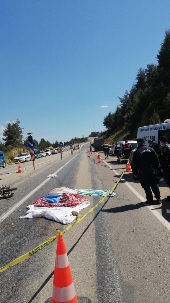 Güreşçi genç, motosiklet kazasında hayatını kaybetti