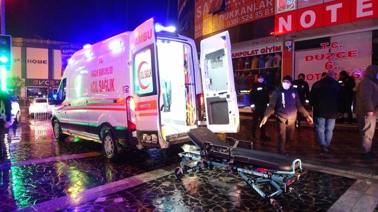 İnşaatta1 kişiyi bıçakla, 4 kişiyi de silahla yaraladılar