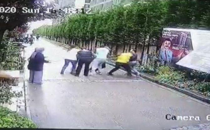 Lüks sitede 'boksörüm' diyerek millete saldırdı