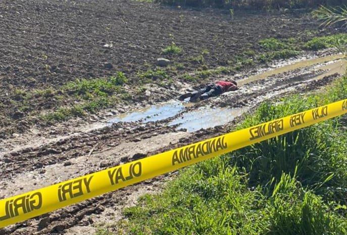Tarsus'ta yol kenarında erkek cesedi bulundu