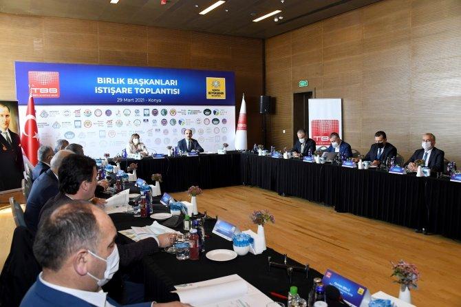 Konya, Birlik Başkanları İstişare Toplantısı'na ev sahipliği yaptı