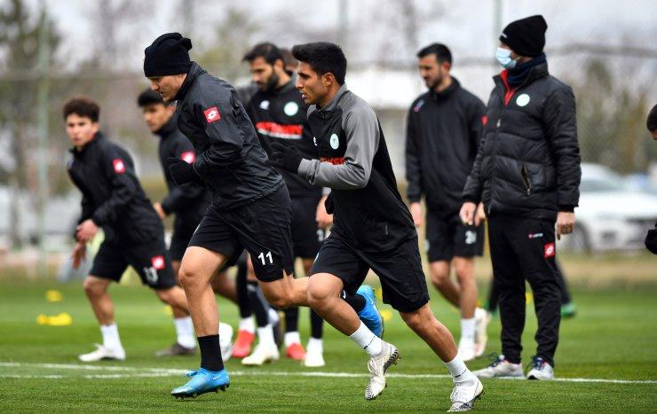 Konyaspor'da hazırlıklar devam ediyor