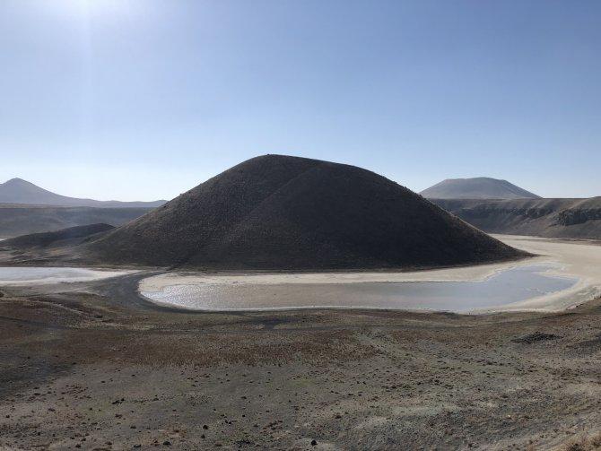 Meke Gölü kurudu, kış yağışları yetmiyor