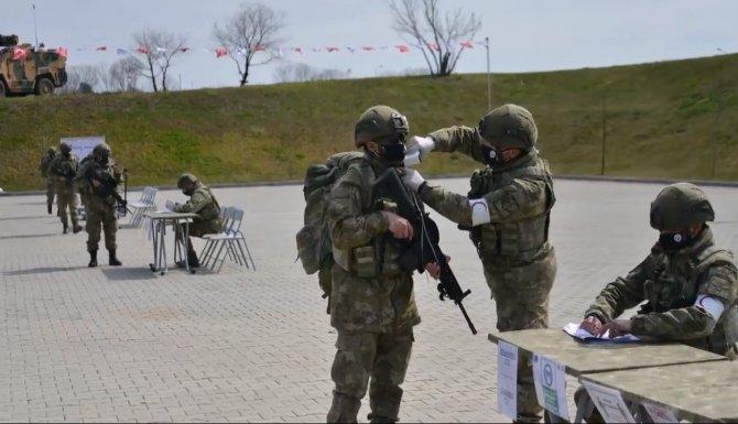 NATO Alarm Tatbikatı Tekirdağ'da gerçekleştirildi