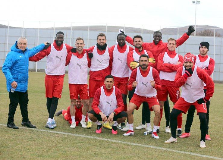 Sivasspor'da, Trabzonspor maçı hazırlıkları sürüyor