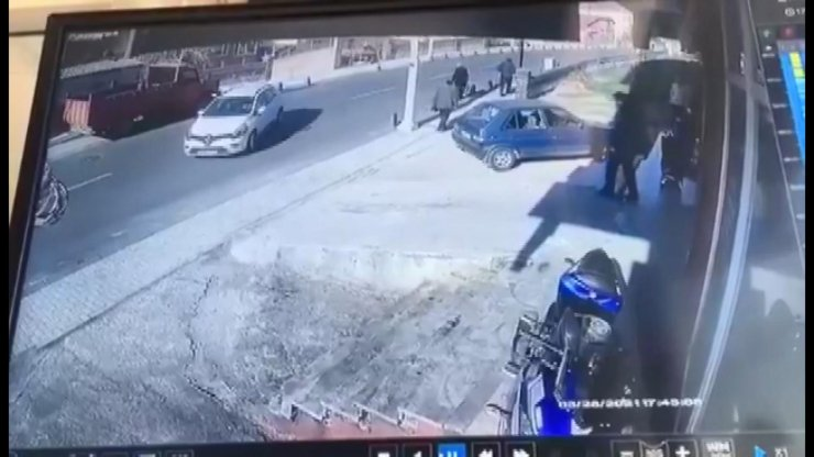 Beykoz'daki feci motosiklet kazası kamerada