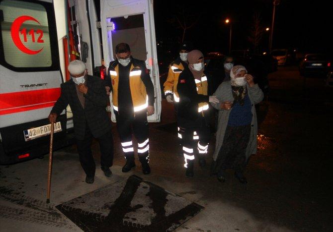 Konya'da düdüklü tencere patladı! Yaralılar var