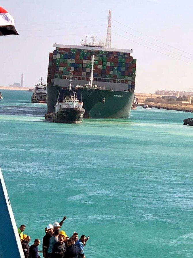 Süveyş Kanalı'ndaki kazaya yönelik soruşturma