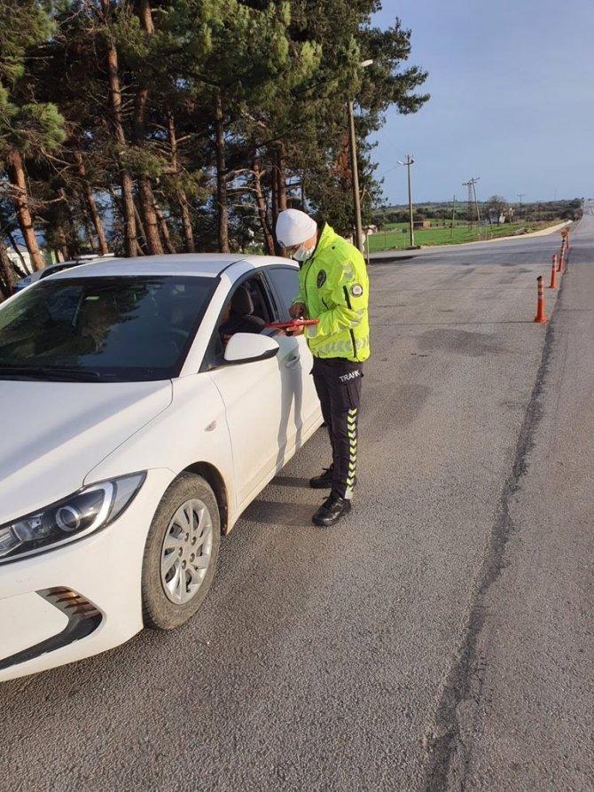 Yurt genelindeki 3 günlük hız denetimlerinde 21 bin 292 araç ve sürücüye idari işlem