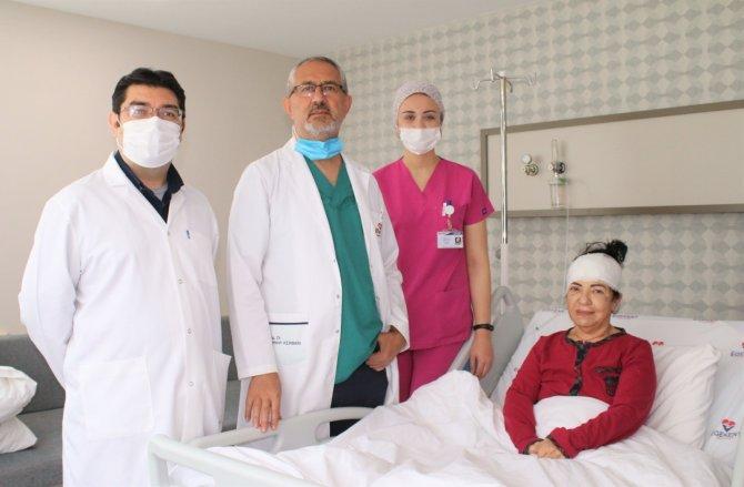 3 yıldır çektiği 'delirten ağrılardan' Egekent'te kurtuldu