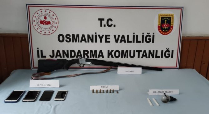 Osmaniye'de uyuşturucu operasyonu