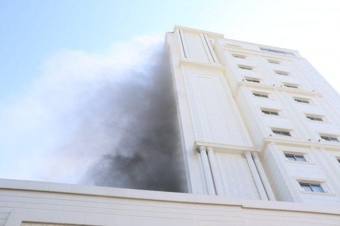 4 yıldızlı otelde yangın