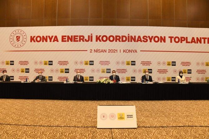 Bakan Dönmez Konya'da konuştu: Yatırım hedefimiz 612 milyon lira