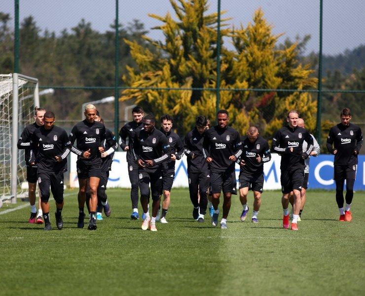 Beşiktaş'ta, Kasımpaşa maçı hazırlıkları sürdü
