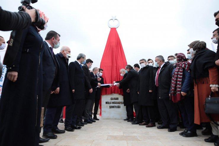 Denizli'nin ilk milli mücadele şehitliği açıldı