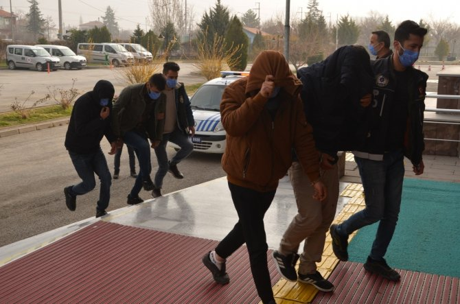 Konya'da uyuşturucu operasyonu: 12 tutuklama