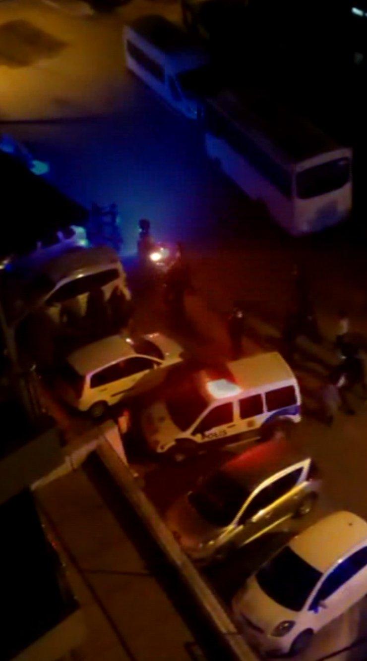 Kavgada silahın ateşlenmesini kadının 'bırak' çığlığı engelledi