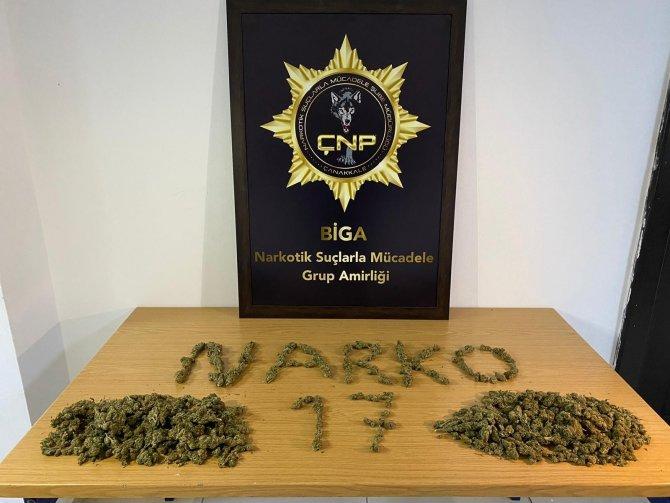 Çanakkale'de uyuşturucu operasyonu: 7 tutuklama