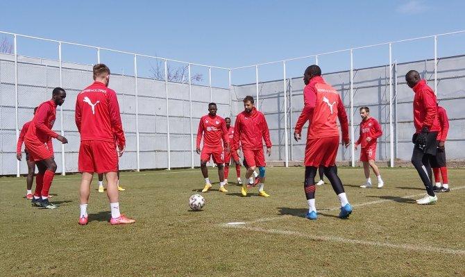 Sivasspor'da Konyaspor hazırlıkları sürüyor