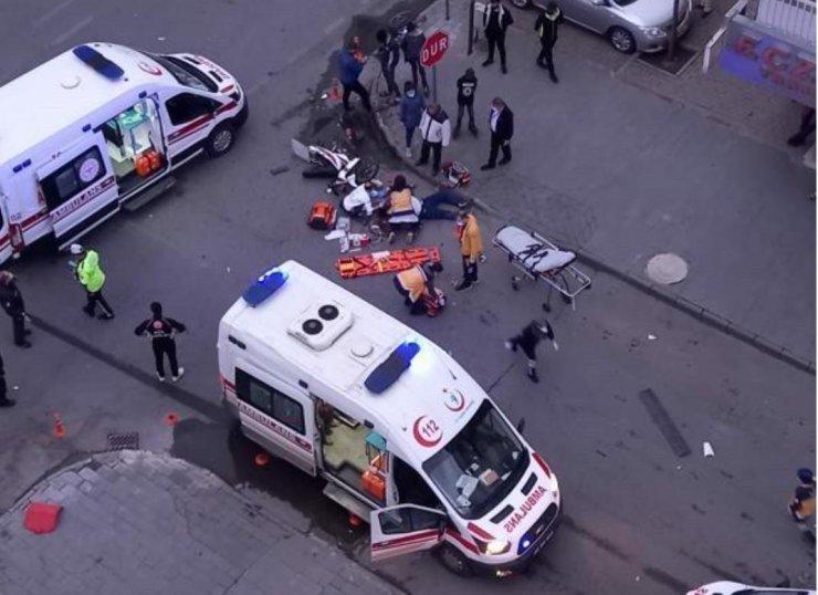 Ambulansın çarptığı motosikletli öldü