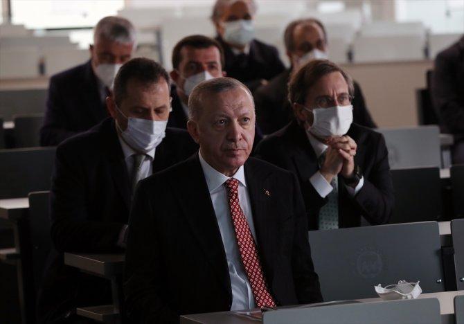 Başkan Erdoğan ve Bakan Kurum, Recep Tayyip Erdoğan külliyesini inceledi