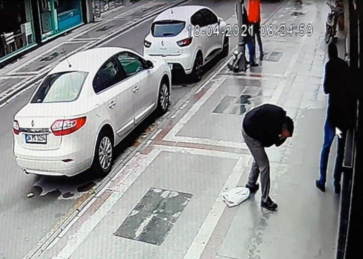 2 kişinin vurulma anı kamerada