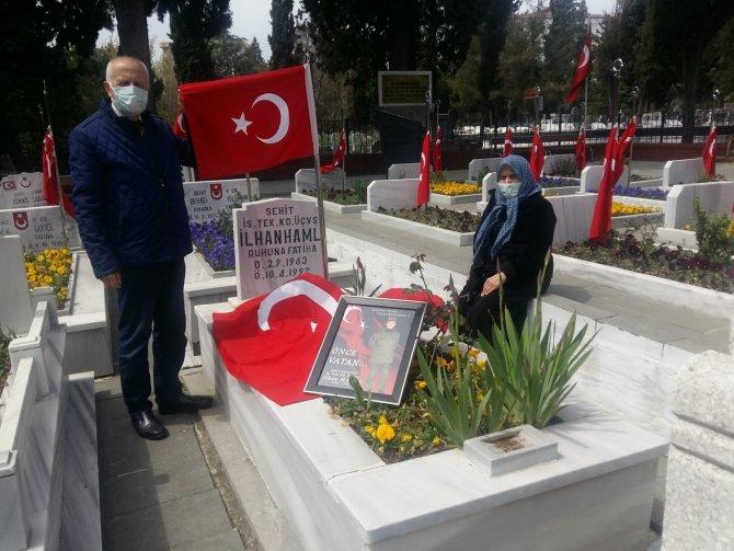 Şehit Astsubay İlhan Hamlı şehadetinin 29. yıl dönümünde anıldı