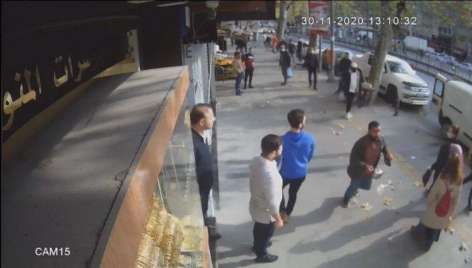 Gasp şüphelisi polis baskınından kaçarken çatıdan düştü