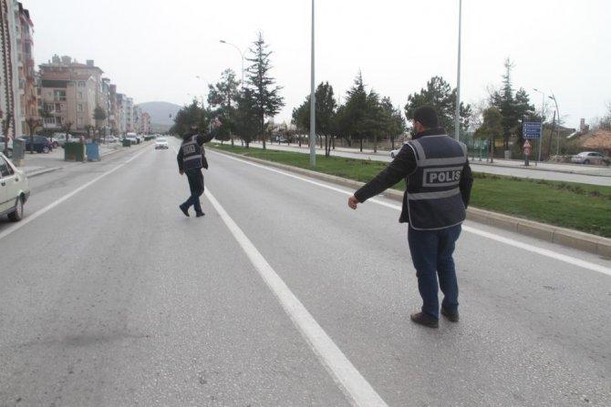 Beyşehir'de sokağa çıkma yasağını ihlal eden 7 kişiye ceza