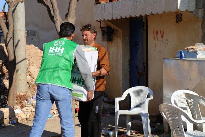 Savaş mağdurları Konya'dan giden kumanyalarla iftar yapacak