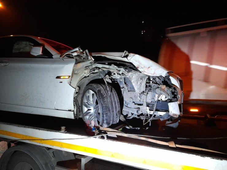 TEM Otoyolu'nda zincirleme kaza: 7 yaralı